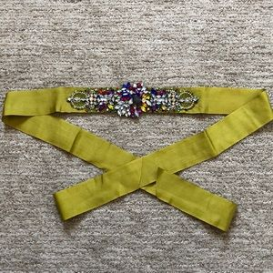 Embellished Sash Belt